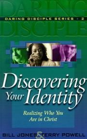 Cover of: Discovering Your Identity | Jones, Bill