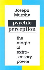 Cover of: Psychic perception