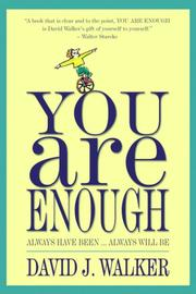 Cover of: You Are Enough