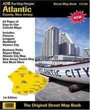 Cover of: Adc Street Map Book, Atlantic County, New Jersey | Adc the Map People