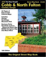 Cover of: Adc Street Map Book Cobb & North Fulton Counties, Georgia | the Map People ADC