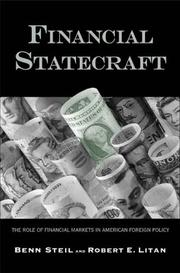 Cover of: Financial Statecraft: role of financial markets in American foreign policy