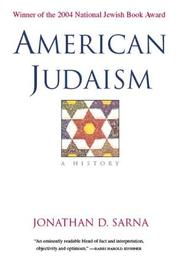 Cover of: American Judaism
