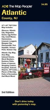 Cover of: Atlantic County NJ Pocket Map |