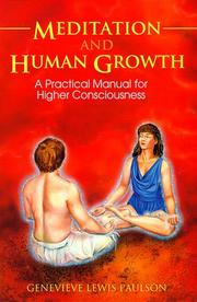 Cover of: Meditation And Human Growth