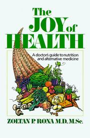 Cover of: The joy of health