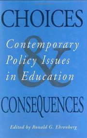 Cover of: Choices and Consequences