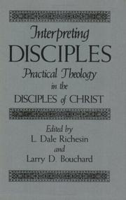 Cover of: Interpreting Disciples |