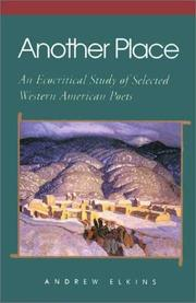Cover of: Another place