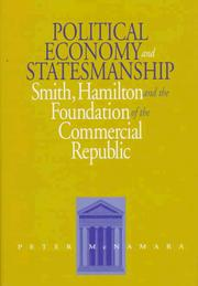 Cover of: Political economy and statesmanship