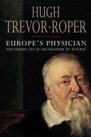 Cover of: Europe's Physician