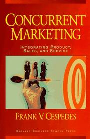 Cover of: Concurrent marketing | Frank V. Cespedes