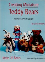 Cover of: Creating Miniature Teddy Bears (International Artists' Designs)