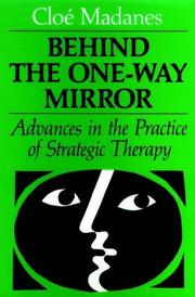 Cover of: Behind the one-way mirror