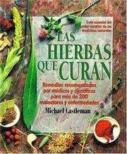 Cover of: Las hierbas que curan by Michael Castleman