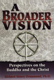 Cover of: A broader vision
