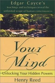 Cover of: Your mind