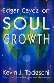 Cover of: Edgar Cayce on Soul Growth