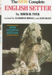 Cover of: The new complete English setter | Davis Henry Tuck
