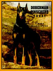 Cover of: Doberman pinschers today