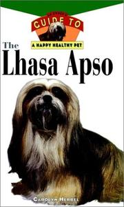 Cover of: The Lhasa apso
