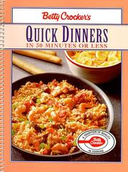 Cover of: Quick Dinners in 30 Minutes or Less |