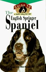 Cover of: The English springer spaniel