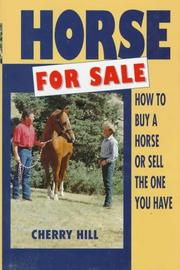 Cover of: Horse for sale