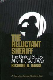 Cover of: The Reluctant Sheriff The United States after the Cold War