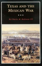 Cover of: Texas and the Mexican War