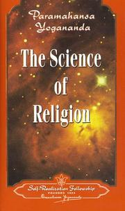 Cover of: The science of religion