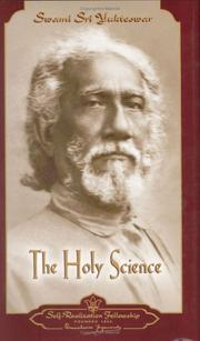 Cover of: The Holy Science | Swami Yukteswar