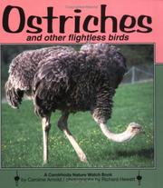 Cover of: Ostriches and other flightless birds | Caroline Arnold