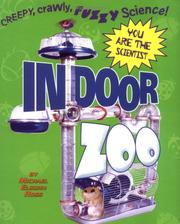 Cover of: Indoor Zoo (You Are the Scientist)