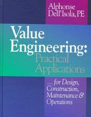 Cover of: Value engineering