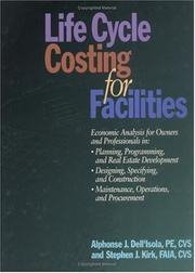 Cover of: Life cycle costing for facilities
