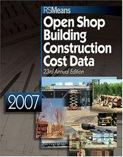 Cover of: 2007 Means Open Shop Building Construction Cost Data |