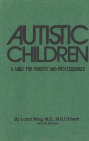 Autistic children by Lorna Wing