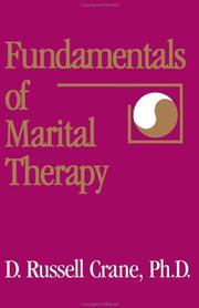 Cover of: Fundamentals of marital therapy