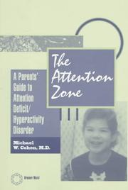 Cover of: The Attention Zone | Michael Cohen
