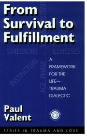 Cover of: From Survival to Fulfilment