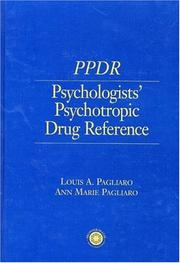 Cover of: Psychologists' psychotropic drug reference