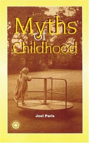 Cover of: Myths of Childhood
