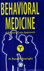 Cover of: Behavioral medicine