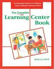 Cover of: The complete learning center book
