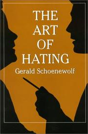 Cover of: The art of hating
