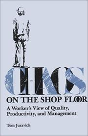 Cover of: Chaos on the shop floor
