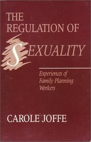 Cover of: Regulation of Sexuality