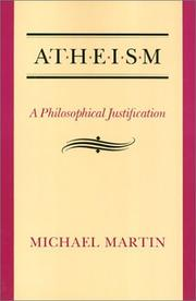 Cover of: Atheism by Michael Martin