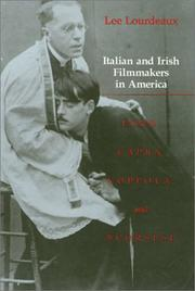 Italian and Irish filmmakers in America by Lee Lourdeaux
